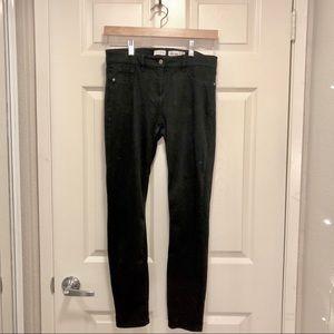 Madison Jules Skinny Pants in size 6 Short Black